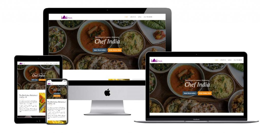 Chef India Restaurant in Lawton, OK